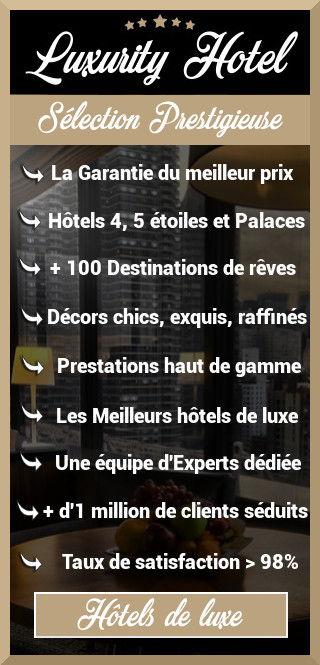 site d'hôtel de luxe pas cher Luxurity Hotel