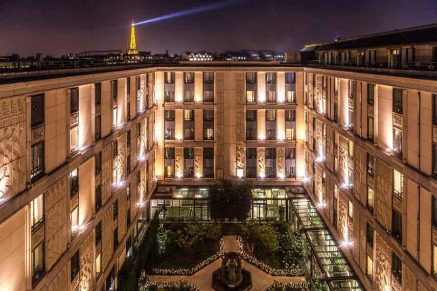 Hôtel du collectionneur Arc de Triomphe