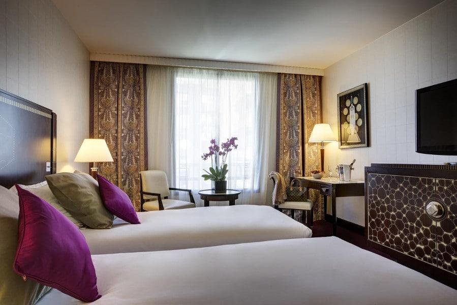 Hotel du collectionneur arc de triomphe h tel 5 toiles for Hotel du collectionneur nombre de chambres