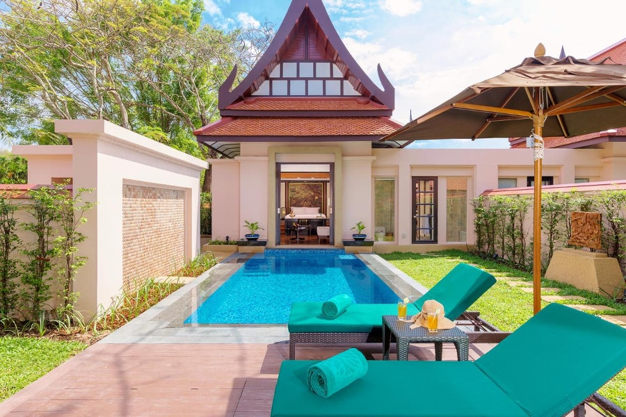 banyan tree phuket h tel 5 toiles de luxe phuket. Black Bedroom Furniture Sets. Home Design Ideas