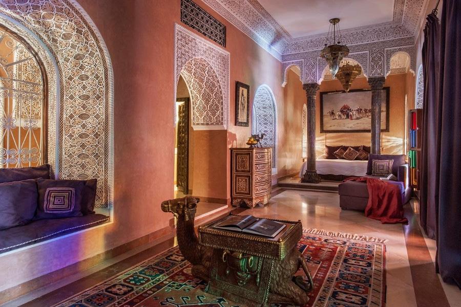 H tel romantique marrakech for Hotel romantique belgique