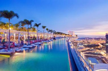 Hôtel de luxe Marina Bay Sands à Singapour