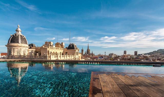 Les Meilleurs Hôtels De Luxe à Barcelone - Hotel barcelone avec piscine sur le toit